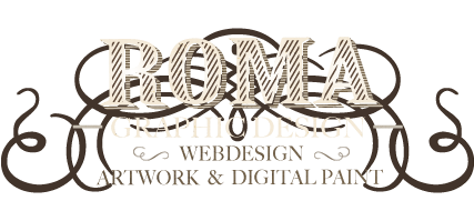 Roma Graphic Designer, Webdesign